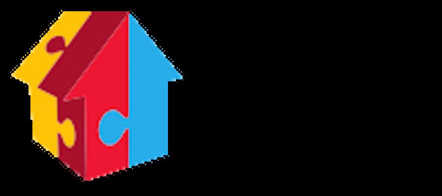 Blick auf das Mehrgenerationenhaus Logo