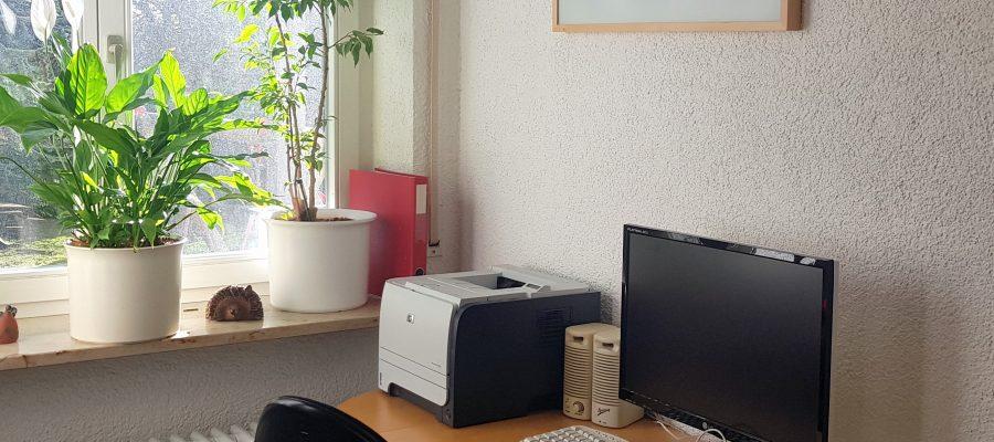 Arbeitsplatz mit PC