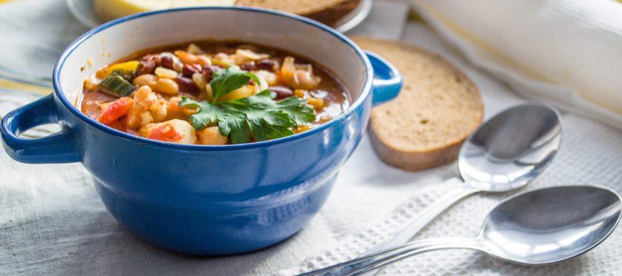 Eine Schüssel Suppe