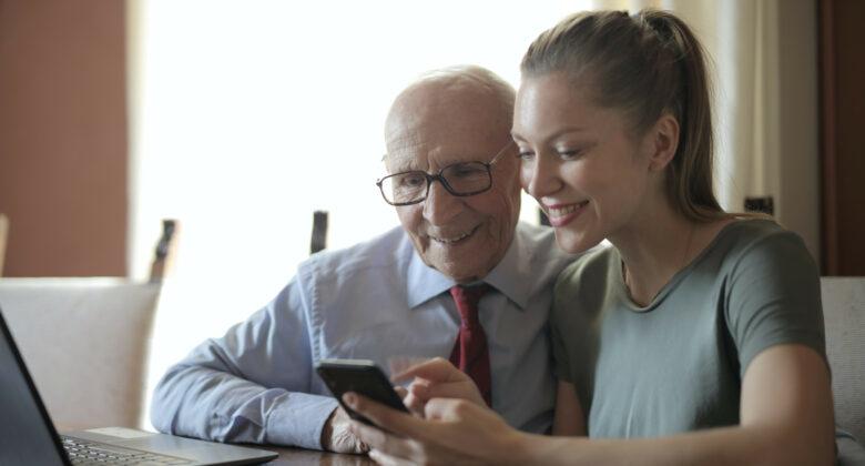 Generationen am Smartphone