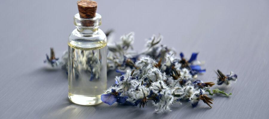 Ein Blick auf Kräuter und Öle